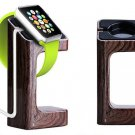 New Apple iWatch 38mm 42mm Wooden Stand Holder Charging Docking Station Mount