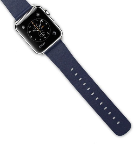 New Apple iWatch 42mm Wrist Strap Watch Band with Watchband Adapter Blue