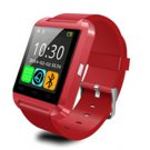 New U8 Smart U Watch Bluetooth Mate For Android/IOS iPhone Samsung HTC Red