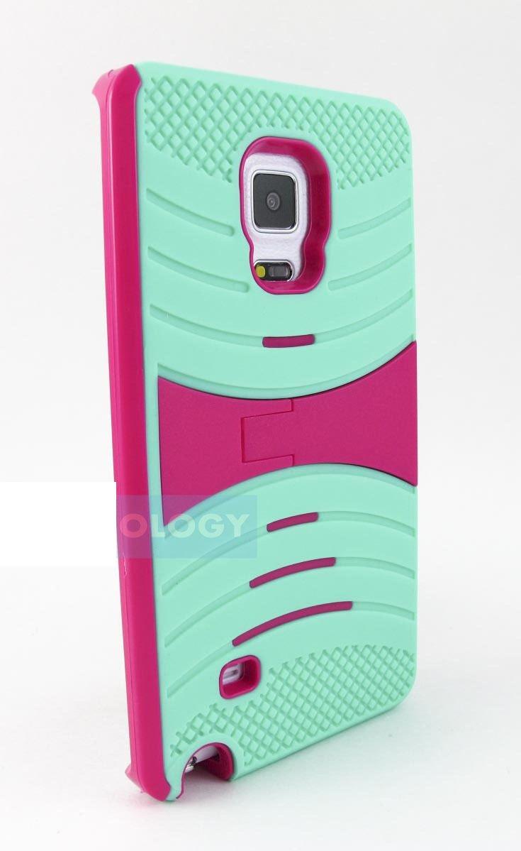 For Samsung Galaxy Note Edge EXO Stretch Heavy Duty Hybrid Case Cover Stylus-Pen