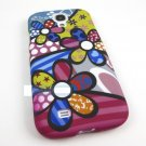 Bizarre Cartoon Flowers Hard Case Cover For Samsung Galaxy S IV 4 S4 I9500