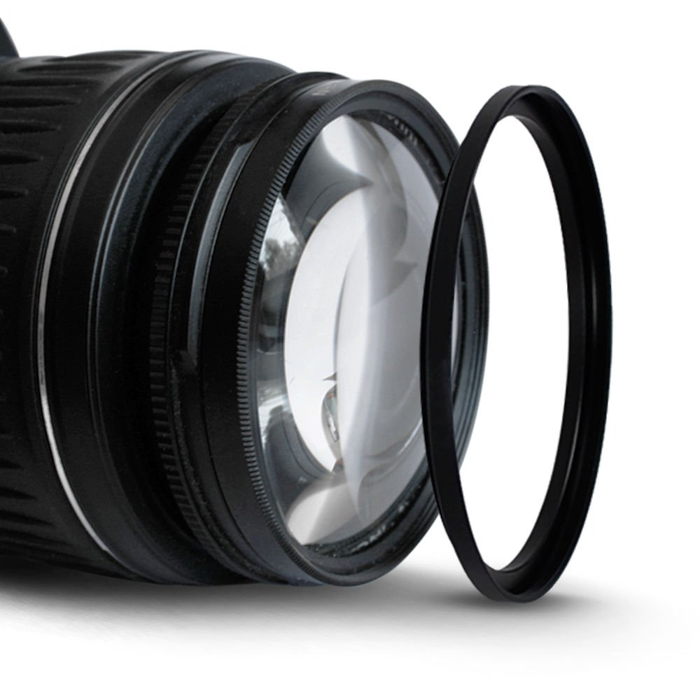 52-72mm Step-Up Metal Adapter Ring  52mm Lens to 72mm Accessory