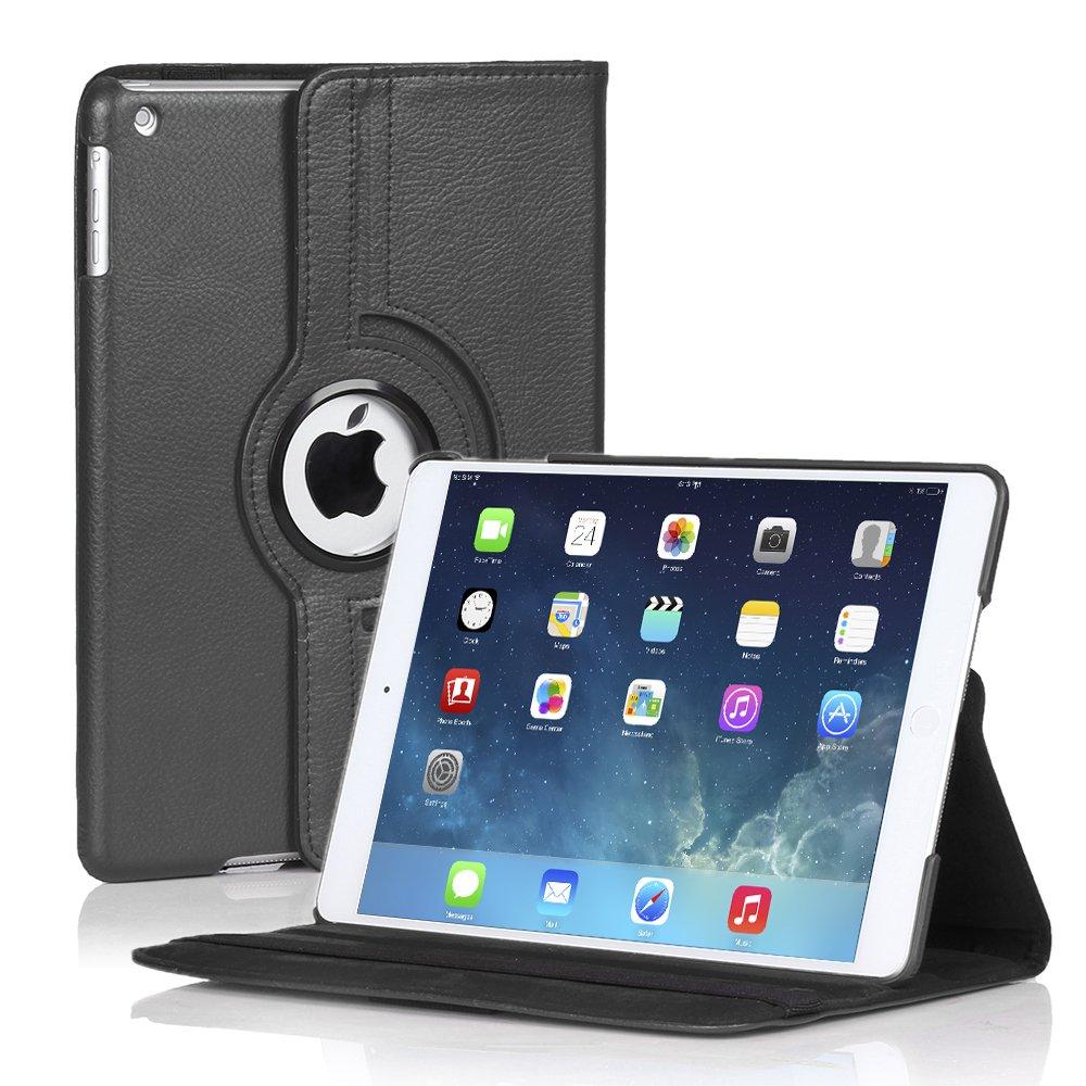 New iPad Case for iPad Air 5 4 3 2 & iPad Mini PU Leather Case Smart Cover Stand