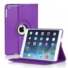 New Purple iPad Air 5 4 3 2 & iPad Mini PU Leather Case Smart Cover Stand