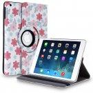 New Flower-Plum iPad Air 4 3 2 & iPad Mini PU Leather Case Smart Cover Stand