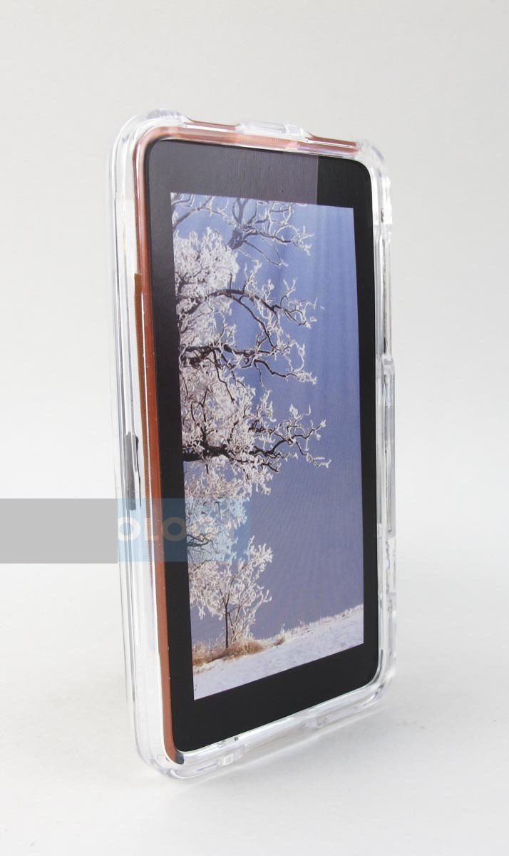 LCATEL One Touch Pop Mega - Star LTE Hard Two Part Snap-On Clear Case Cover