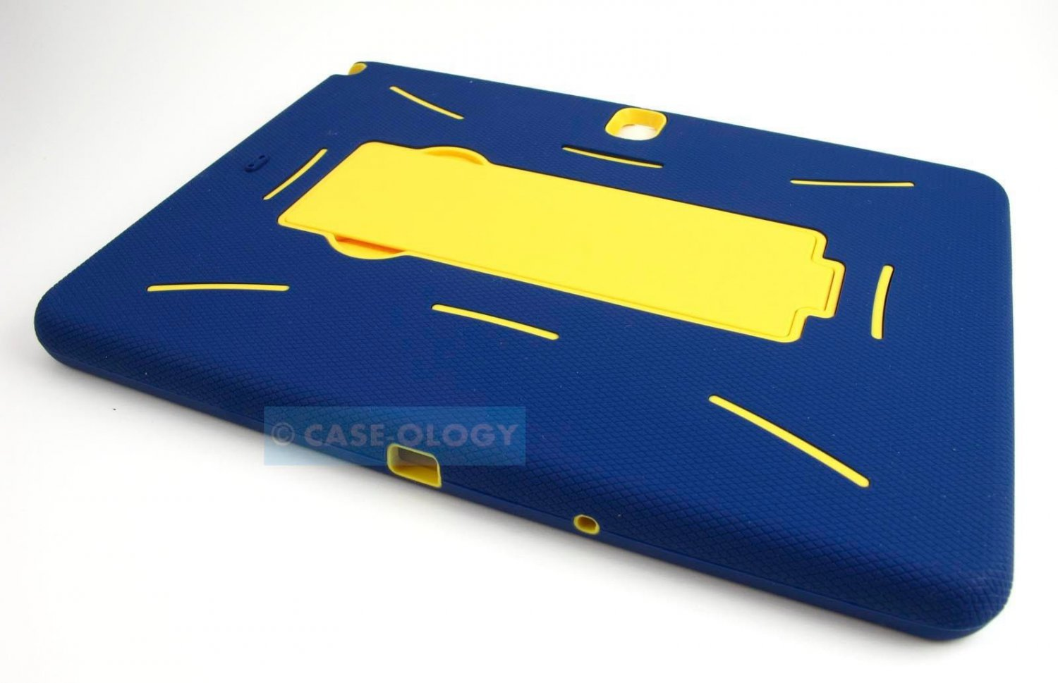 New Navy Blue and Yellow Samsung Galaxy Note 10 2014 Only Case Cover Stylus Pen