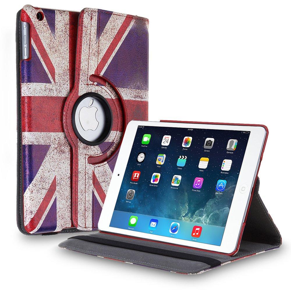 New Flag-UK iPad Air 4 3 2 & iPad Mini PU Leather Case Smart Cover Stand