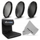 77MM ND Neutral Density Filter Set ND2 ND4 ND8 for Canon Nikon DSLR Camera Lens