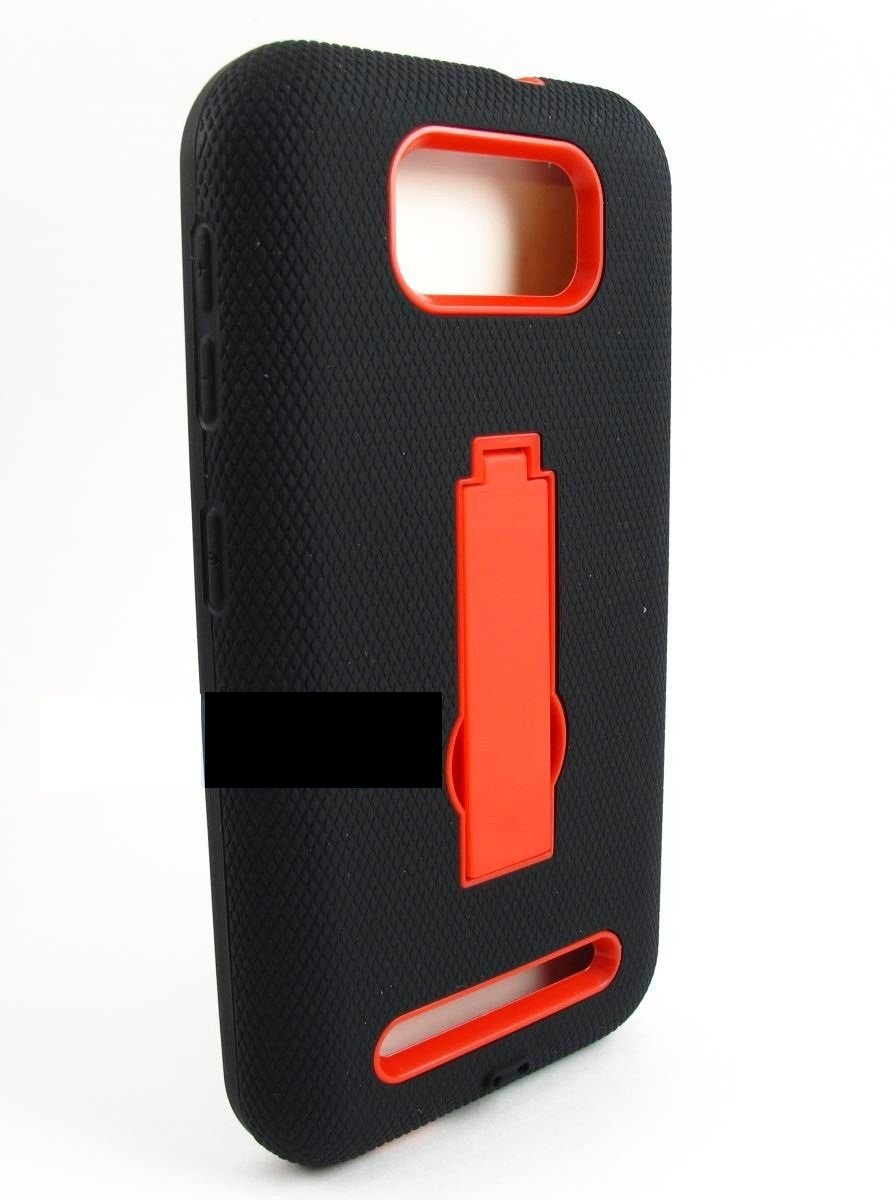 New Black & Red Studio 5.0 D530A Phones-Device Rugged Hybrid Armor Impact