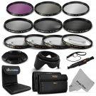 67MM Macro Close Up Set - UV CPL FLD,ND 2 4 8 Filter Kit for Canon & Nikon DSLR