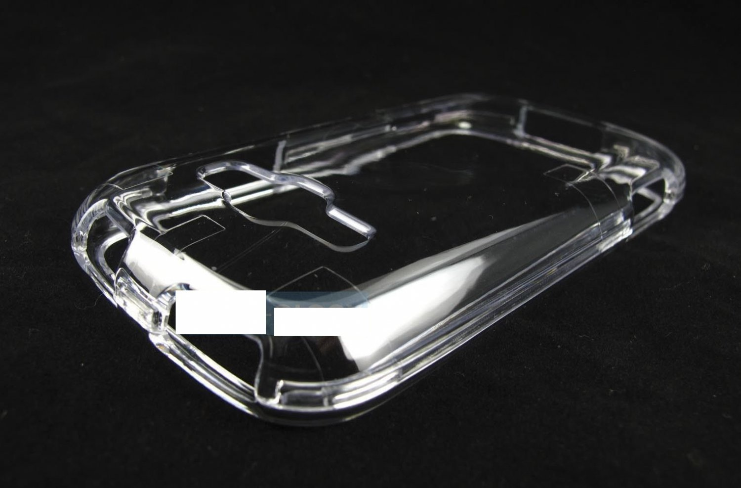 Crystal Clear Hard Snap-On Case Cover For Samsung Galaxy Ring M840-Prevail Ii 2