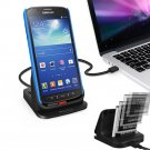USB Dual Cradle Dock Station Battery Charger for Samsung Galaxy S4 Active i9295
