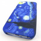 Starry Night Van Gogh Hard Snap-On Case Cover Apple Iphone 5 5s Accessory