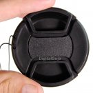 2X 58mm Center Pinch Lens Cap Cover for Canon Rebel T5i T5 T4i T3i T3 18-55mm