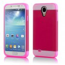 New Claret For Samsung Galaxy S4 Multi Toned Hybrid Skin Hard Case Cover