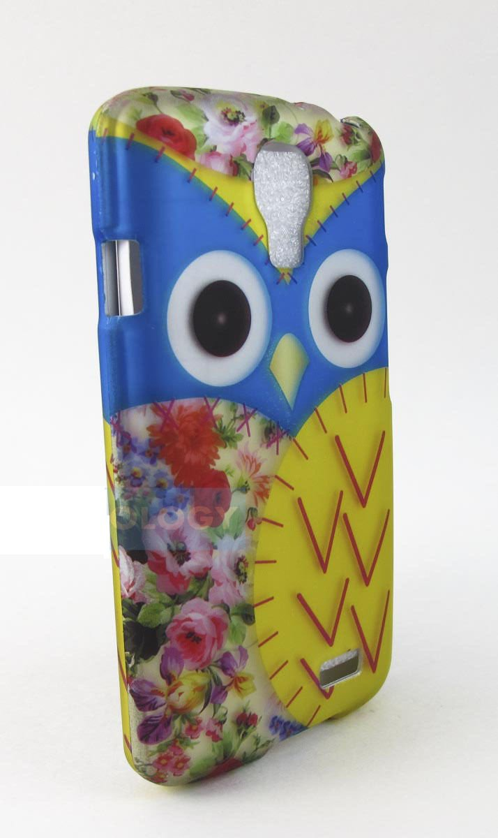 Blue & Yellow Owl Lg Access L31g Lte F70 Design Hard Snap-On Case Covers Stylus