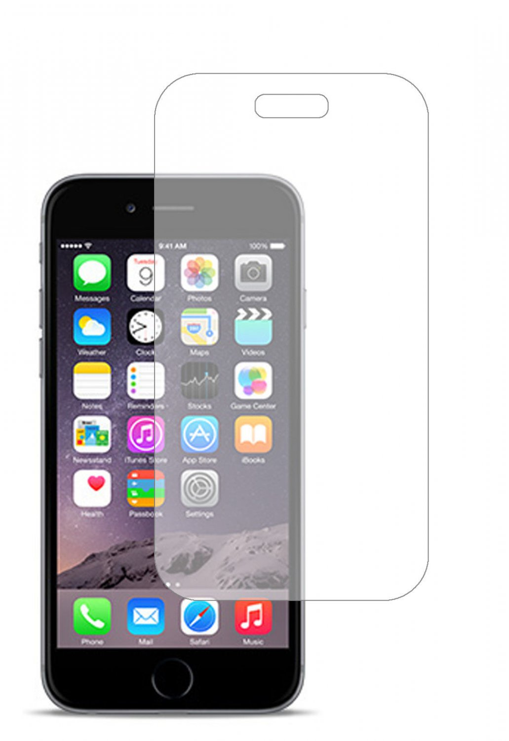 2 Premium Clear Screen Protector For Apple Iphone 6 Plus 5.5