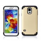 Gold Hybrid Shockproof Rugged Mate Cover Case For Samsung Galaxy S5 S4 Note 3 2