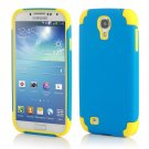 Blue Hybrid Shockproof Rugged Mate Cover Case For Samsung Galaxy S5 S4 Note 3 2