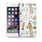 New London Big Ben Clock Travel iPhone 6 4.7-6 Plus 5.5 Hard Snap-on Case Cover-Screen Protectors