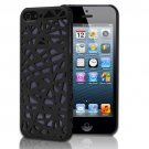 Black Bird's Nest Design Hard Snap On Case Cover For Apple iPhone 5S 5 5th Gen