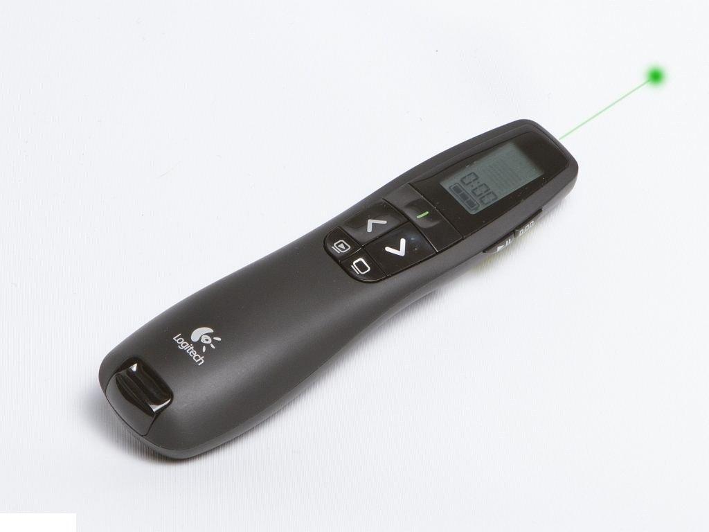 New Logitech R800 Professional Wireless Presenter Laser Pointer & Case