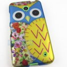 New Cute Blue Patchwork Owl Hard Case Cover For Nokia Lumia 635 Accessory