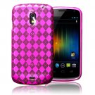 New Pink TPU Gel Case Cover For Samsung Galaxy Nexus I9250