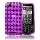 NEW PINK TPU GEL SKIN CASE COVER FOR MOTOROLA DROID PRO