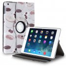 New Apple Coffe Cup Brown iPad Air 5 5th Gen PU Leather Case Smart Cover Stand