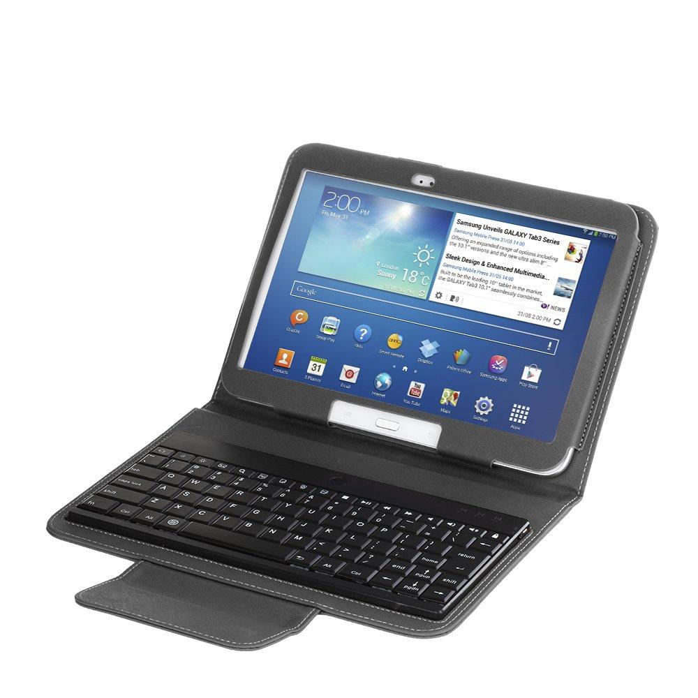 Bluetooth Wireless Keyboard Case For Samsung Galaxy tab 3 8.0 Inch black