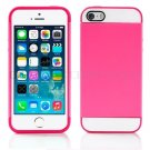 Pink Hybrid Hard TPU Case Combo Cover For Apple iPhone 5c