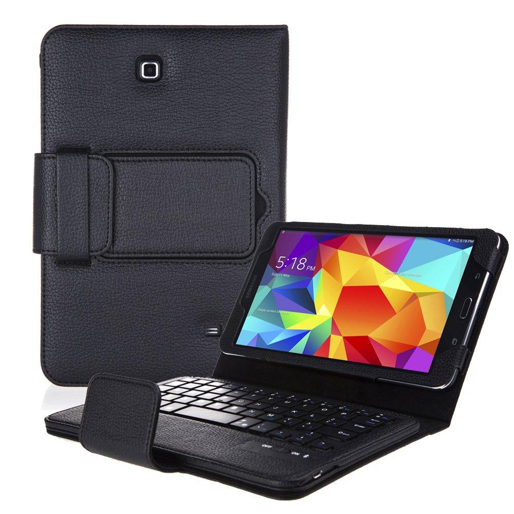 Bluetooth Wireless Keyboard Case For Samsung Galaxy tab 4 7 inch