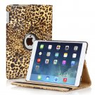New Apple Brown Leopard Print iPad Air 5 5th Gen Case Smart Cover Stand