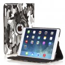 New Camouflage Camo Black iPad Air 5 5th Gen Case Smart Cover Stand