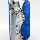 New Ocean Blue Vines LG Optimus Dynamic Graphic Design Case Covers Stylus