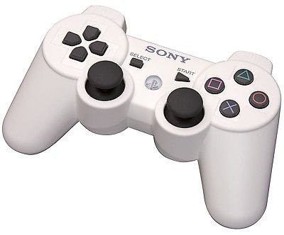 New Original SONY PlayStation 3 Wireless Controller - Classic White
