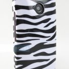 New White Zebra Skin Moto X G E Design Snap-On Case Covers Stylus