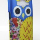Blue & Yellow Owl Skin Samsung Galaxy Prevail LTE Core Prime Graphic Design Snap