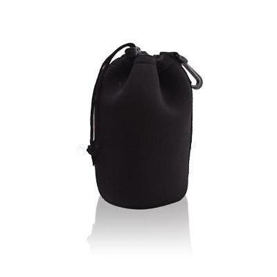 Neoprene Camera DSLR Lens Soft Pouch case Bag L Size