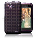Black TPU Gel Skin Case Cover For HTC Rhyme HTC Bliss S510B 6330