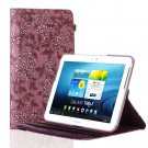 New Grape-Purple Case Smart Cover Stand For Samsung Galaxy Tab 2 Note 8.0