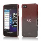Red 3D Rain Drop Clear Water Drop On Case Cover Skin For BlackBerry Z10