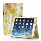 New Flower Green Slim PU Leather Case Cover For Apple iPad 1 1st Gen