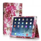 New Flower Pink Slim PU Leather Case Cover For Apple iPad 1 1st Gen