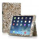New Leopard Yellow Slim PU Leather Case Cover For Apple iPad 1 1st Gen