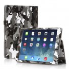 New Camouflage Black Slim PU Leather Case Cover For Apple iPad 1 1st Gen