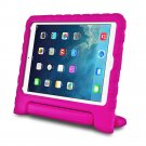 Pink Kids Safe Thick Protective Handle Stand Case For iPad Air Mini