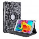 New Zebra Black PU Leather Smart Case Cover For Samsung Galaxy Tab 3